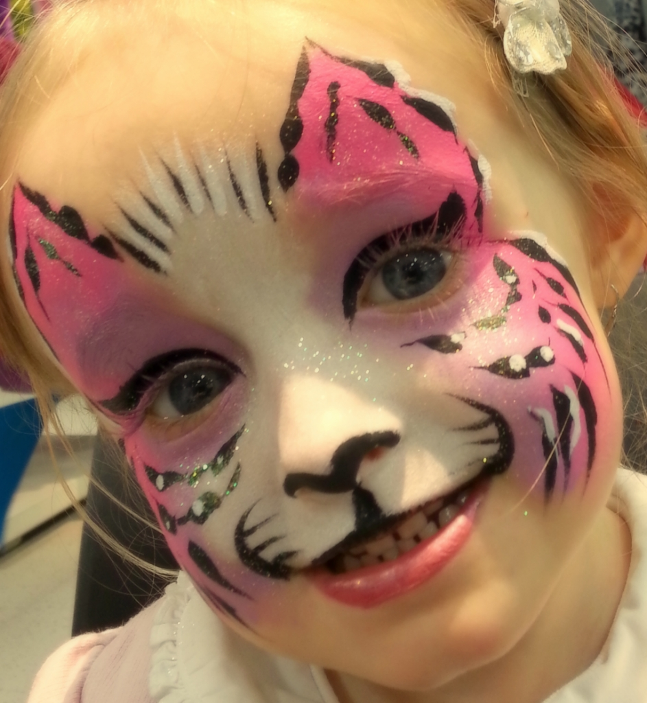 Pink kitty pink kitty for Face painting business