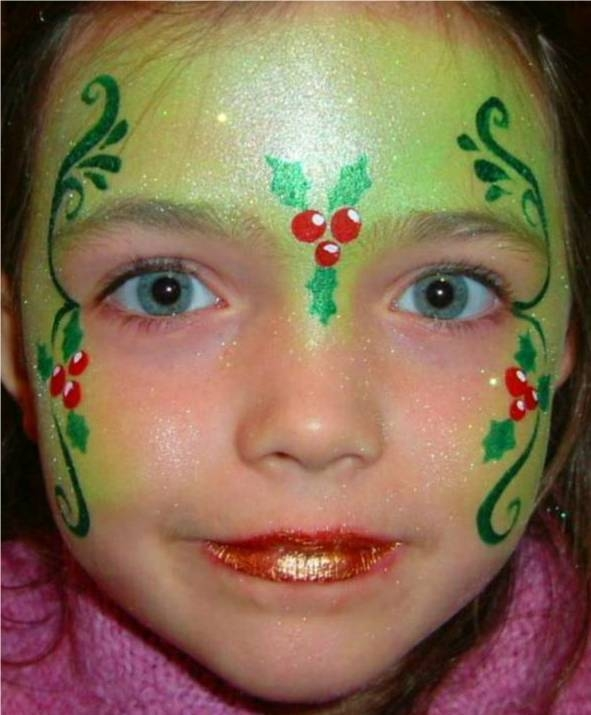 Holly princess holly princess for Face painting business