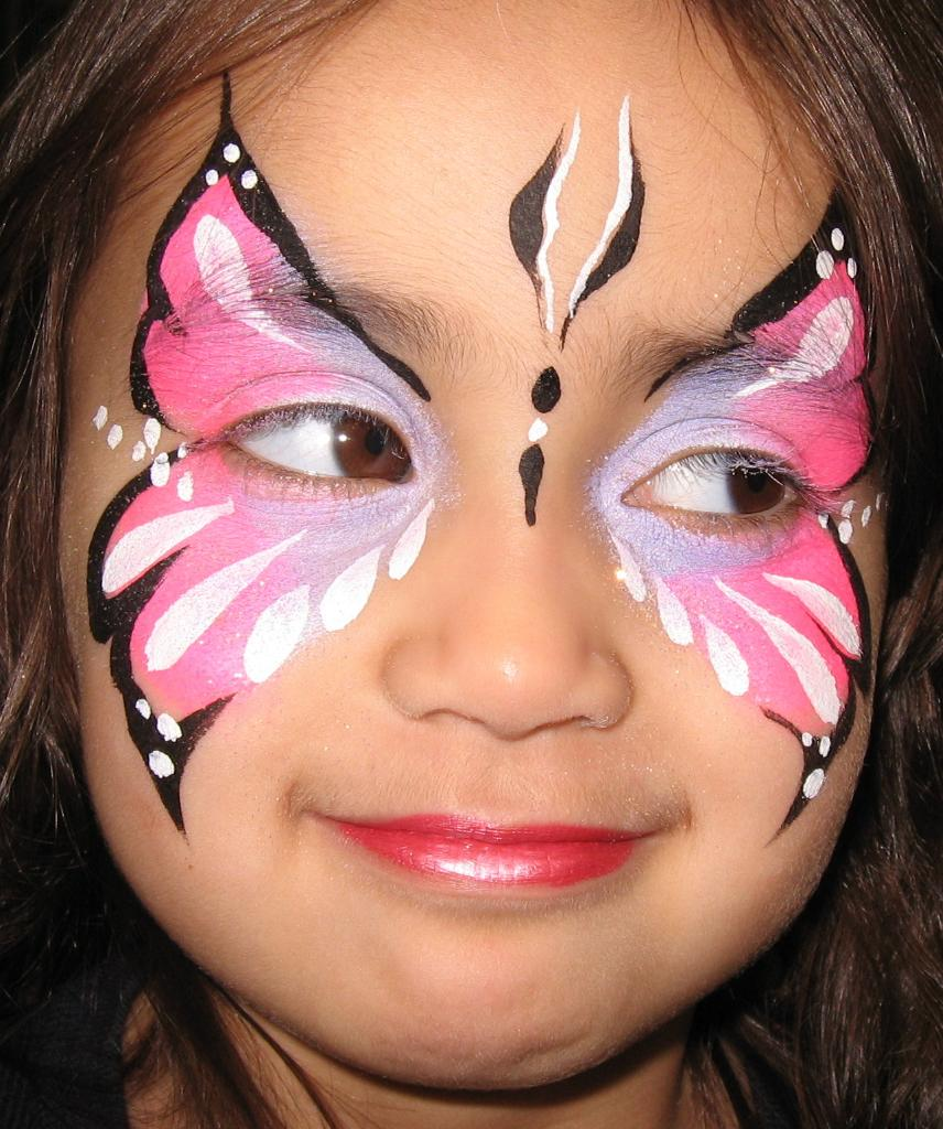 Butterfly butterfly for Face painting business